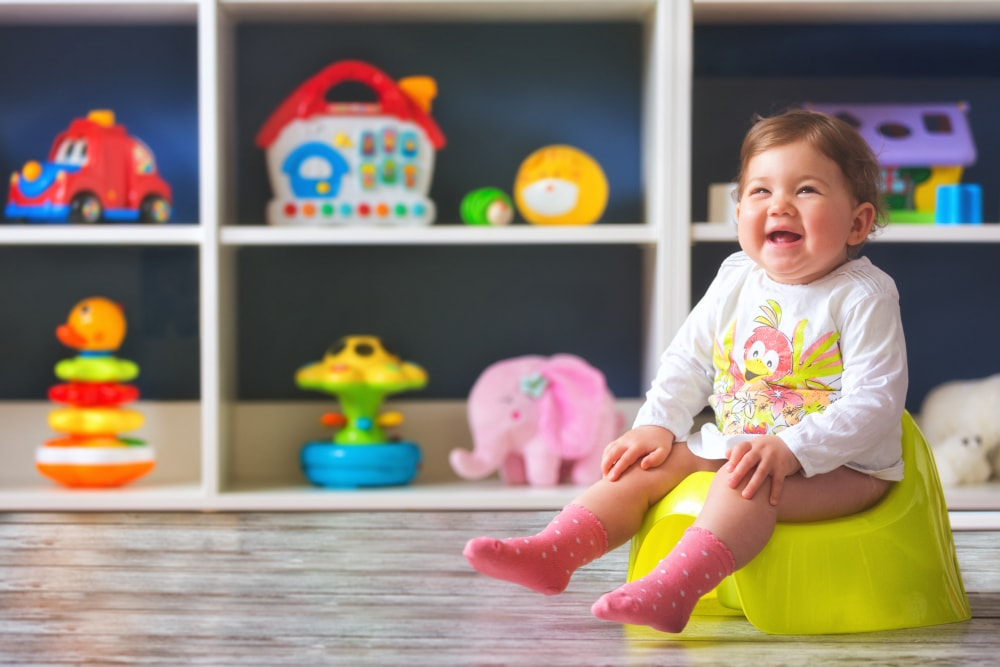3 Tell-Tale Signs that Your Toddler-to-be is Ready for Potty Training